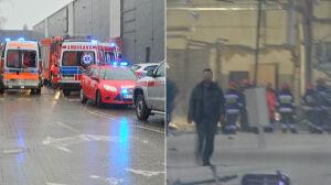 Łopuszańska 22: zawalił się strop, zginęła jedna osoba
