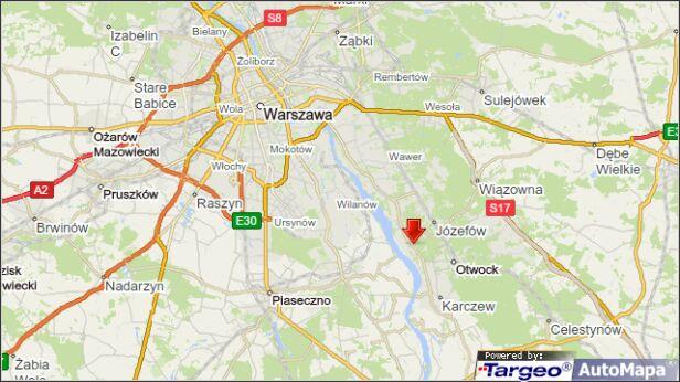 Śmiertelny wypadek na drodze 801 Mapa Targeo