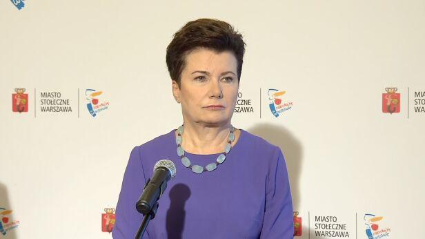 Hanna Gronkiewicz-Waltz TVN24