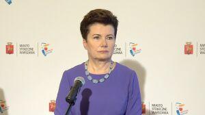 Gronkiewicz-Waltz nie zmienia zdania, PiS ostrzega przed konsekwencjami