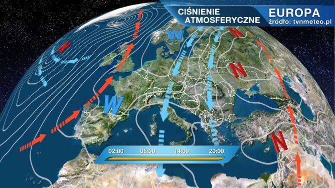 Niż Ailton wpłynie na pogodę w Polsce