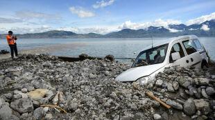 Szwajcaria: spadło 130 l/mkw. deszczu. Rzeka w Genewie z największym przepływem w historii