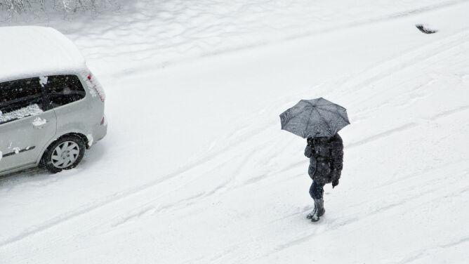 Prognoza pogody na dziś: istnieje ryzyko, że na południu dojdzie do zawiei