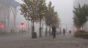 Mgła w Łodzi