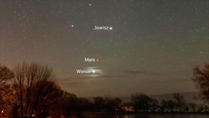 W grudniu patrz w niebo i obserwuj Marsa