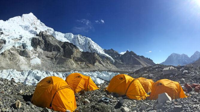 Sprzątają Mount Everest. <br />Trzy tony śmieci w dwa tygodnie