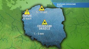 Warunki drogowe w czwartek 29.04
